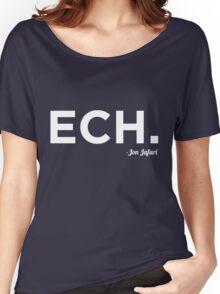 ECH White Women's Relaxed Fit T-Shirt