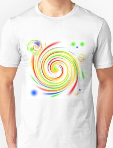 Color Swirls Unisex T-Shirt