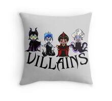 Disney Villains  Throw Pillow