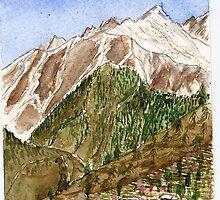 sarahan. Himachal Pradesh . India by taariqhassan