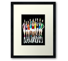 Girls' Generation - OH! Framed Print