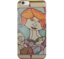 who,s dah dad? iPhone Case/Skin