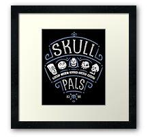 Skull Pals Framed Print