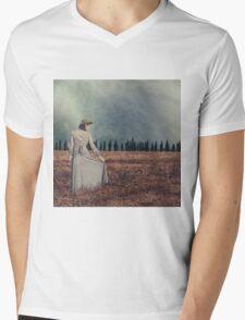 vintage lady Mens V-Neck T-Shirt
