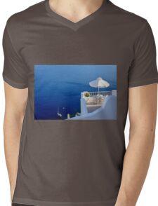 Aegean Sea Mens V-Neck T-Shirt
