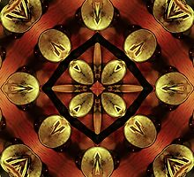 Steampunk Kaleidoscope 4 by SRowe Art
