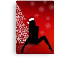 Sexy Christmas Canvas Print