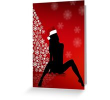 Sexy Christmas Greeting Card