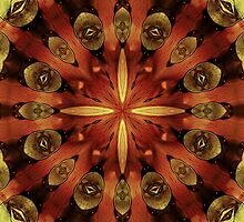 Steampunk Kaleidoscope 3 by SRowe Art