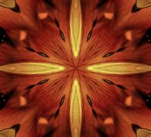 Steampunk Kaleidoscope 3 Sticker
