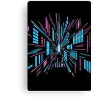 Tunnel to the Stars Canvas Print