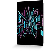 Tunnel to the Stars Greeting Card