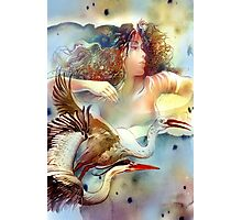 """""""Dancing with Birds"""" - - postcard & greeting card Photographic Print"""