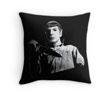 A Most Logical Mask Throw Pillow