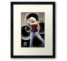 Black Sunshine Clothing S2 II Framed Print