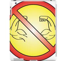 No Flex Zone iPad Case/Skin