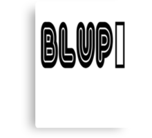 BLUP The Original Canvas Print