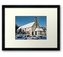 East Kirk in winter Framed Print