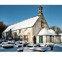 East Kirk in winter Photographic Print