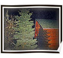 log cabin Poster