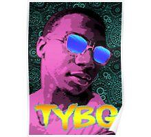 Pixel Art Lil B Poster