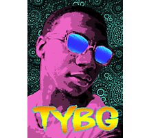 Pixel Art Lil B Photographic Print