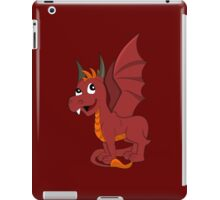 Cute red dragon cartoon iPad Case/Skin