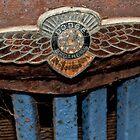 Old Dodge Truck Badge by Karen Stackpole