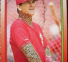 352 - Denny Walling by Foob's Baseball Cards