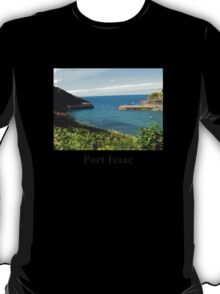 Port Isaac Harbour - North Cornwall / England T-Shirt
