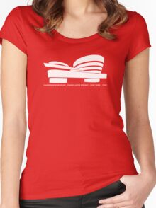 Guggenheim Museum Frank LLoyd Wright Architecture Tshirt Women's Fitted Scoop T-Shirt