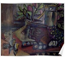 STILL LIFE WITH NUDE PHOTO(C1995) Poster