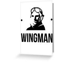 The Wingman Greeting Card