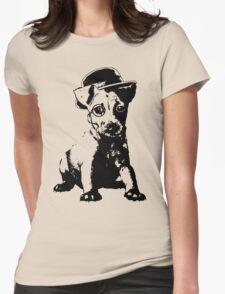 Puppy Warbucks Womens Fitted T-Shirt