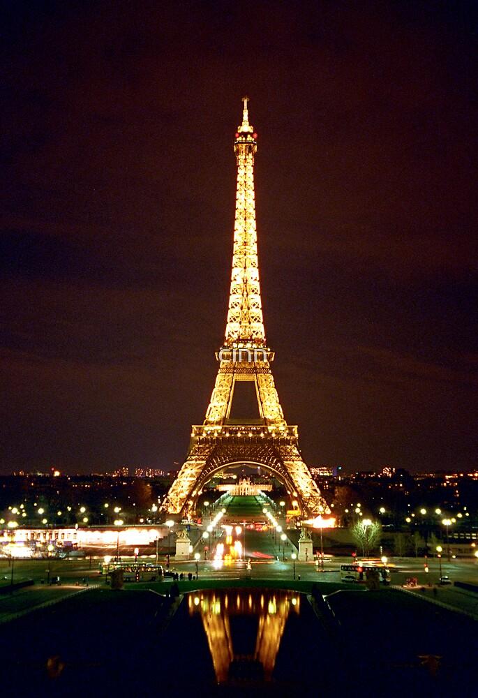 Eiffel Tower in Color by Heidi Hermes