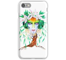 Willow tree. Forest dryad iPhone Case/Skin