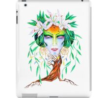 Willow tree. Forest dryad iPad Case/Skin