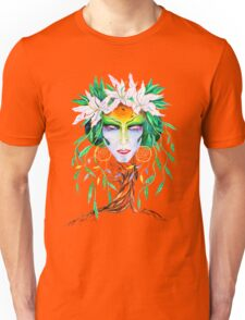 Willow tree. Forest dryad Unisex T-Shirt