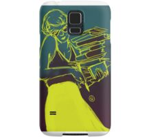 Polar yellow Samsung Galaxy Case/Skin