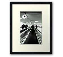 Time is runing out Framed Print