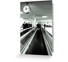 Time is runing out Greeting Card