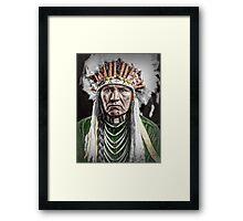 Nez Percé Indian Framed Print