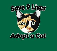 Save 9 lives adopt a CAT Womens Fitted T-Shirt