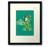 Soldier of Thunder & Courage Framed Print