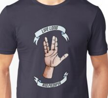 Live Long and Prosper, RIP Leonard Nimoy Unisex T-Shirt
