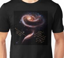 A Rose of Galaxies for Spock Unisex T-Shirt