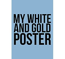 #TheDress - White & Gold? Photographic Print