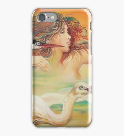 """""""Dancing with Birds"""" iPhone Case/Skin"""