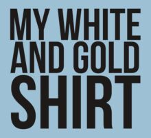 #TheDress - White & Gold? Kids Tee