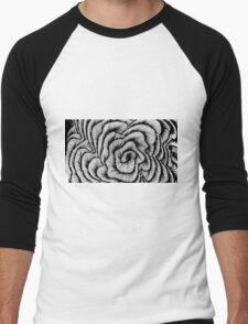 Vector swirl Men's Baseball ¾ T-Shirt